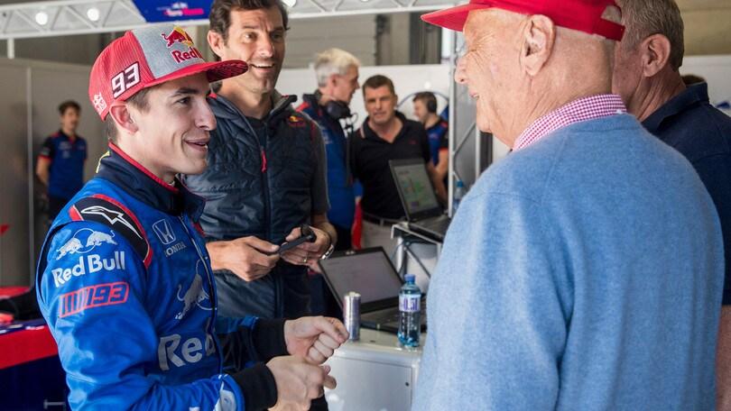 Lauda, anche la MotoGp ricorda il campione austriaco