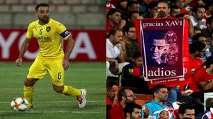 Xavi lascia il calcio giocato: l'ultima partita con l'Al-Sadd