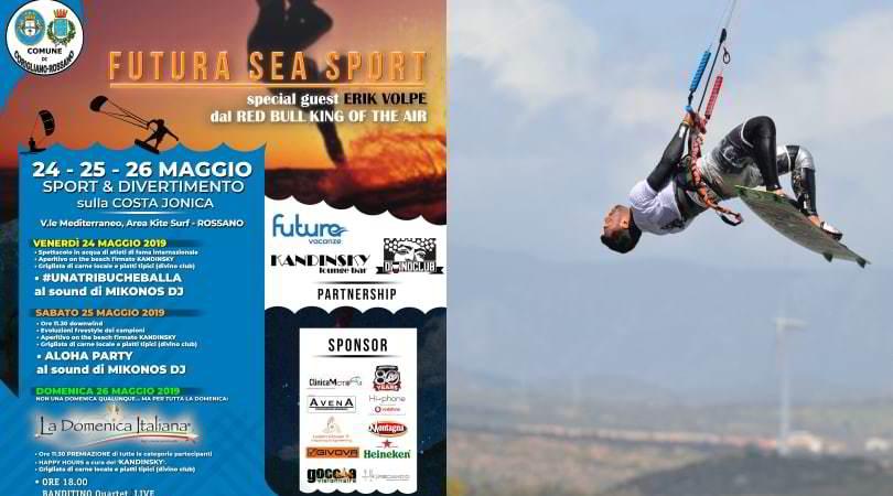 Futura Sea Sport, Rossano capitale del vento