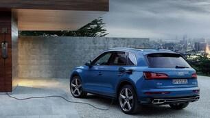 Audi Q5 ibrida plug-in: le foto