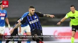Icardi, niente Coppa America. Lotito-Inzaghi: incontro imminente
