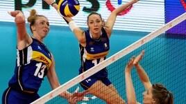 Le azzurre vittoriose sulla Polonia nell'esordio in VNL