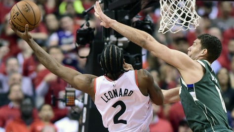 Nba, Toronto strapazza Milwaukee e va 2-2