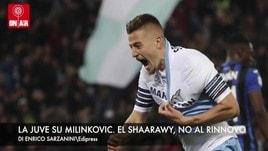 La Juve su Milinkovic. El Shaarawy, rinnovo lontano