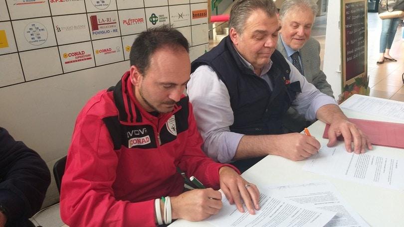 Pasquale Bosco sulla panchina di Reggio Emilia