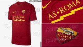 Roma, ecco le t-shirt Nike 2019-20