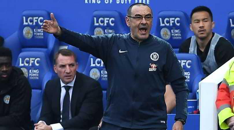 """Sarri: """"L'interesse di club italiani fa piacere. Devo parlare con il Chelsea"""""""