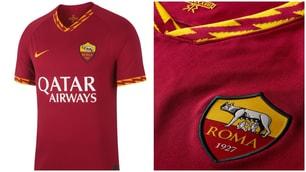 Ecco la nuova maglia della Roma
