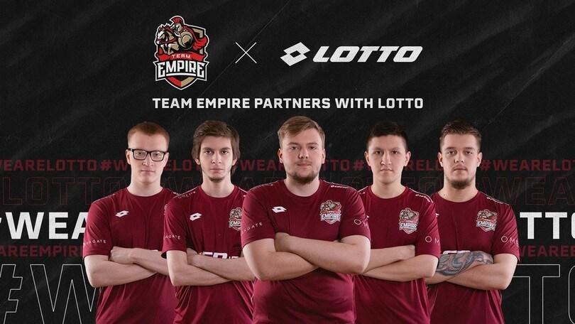 Lotto e gli esports Atto II: vestirà il Team Empire