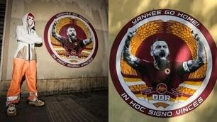 Altro omaggio a De Rossi: un murales a Testaccio