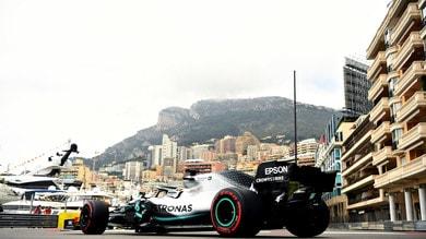Gp Monaco, Hamilton vola davanti a Verstappen nelle libere