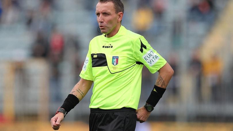 Serie A, Mazzoleni per Roma-Parma. Torino-Lazio compito di Abisso
