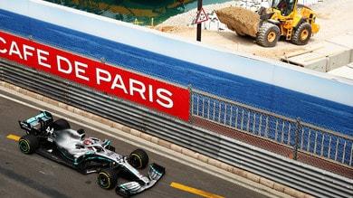 Hamilton e Bottas dominano le libere a Monaco, Vettel terzo