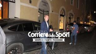 Roma, De Rossi porta la squadra a cena fuori