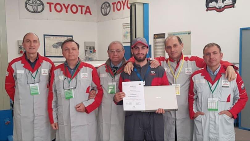 Toyota, un premio per i tecnici di domani