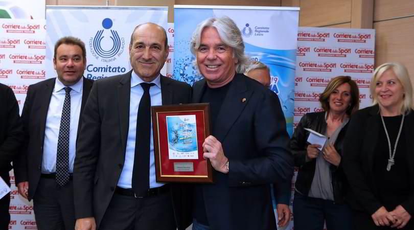Il direttore Ivan Zazzaroni ha salutato i premiati dei Concorsi di Volley Scuola