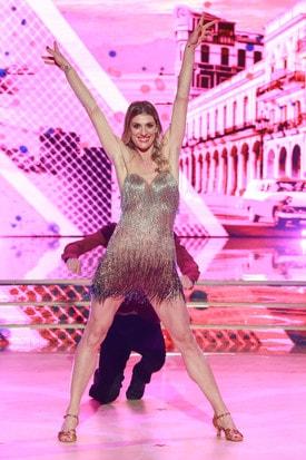 Francesca Piccinini Calendario.Francesca Piccinini Diventa Ballerina A Ballando Con Le
