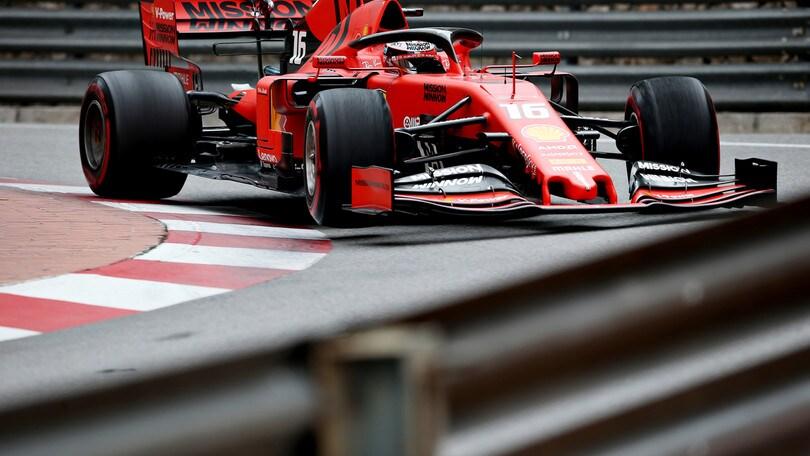Gp Monaco, niente penalità per Leclerc