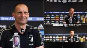 Allegri col nuovo look: l'addio alla Juve con i capelli corti