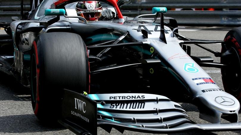 Gp Monaco, Hamilton in pole. Vettel quarto, Leclerc 16°