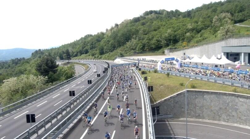 """Corsa ciclistica sulla """"Panoramica"""": record di adesioni"""