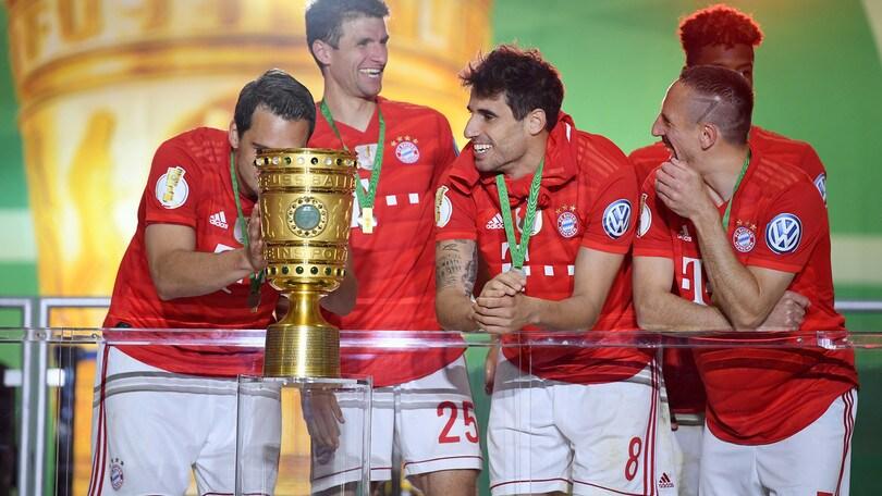 Bayern Monaco, è bis: dopo la Bundesliga arriva la Coppa di Germania
