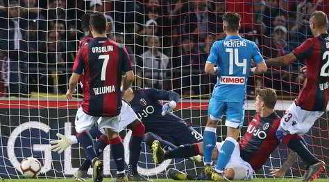 Bologna-Napoli 3-2: Mihajlovic batte Ancelotti