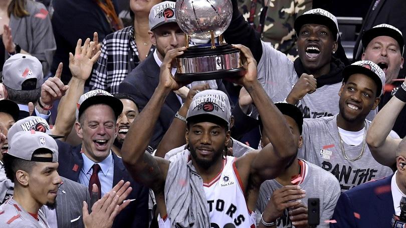 Nba, Toronto nella storia: in finale con Golden State