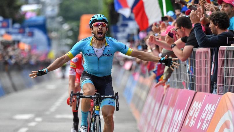 Giro: a Cataldo la 15ª tappa, Nibali guadagna su Roglic