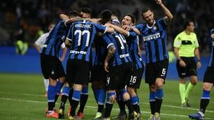 L'Inter festeggia la Champions, l'Empoli saluta la A