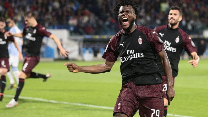 Serie A Spal-Milan 2-3, il tabellino