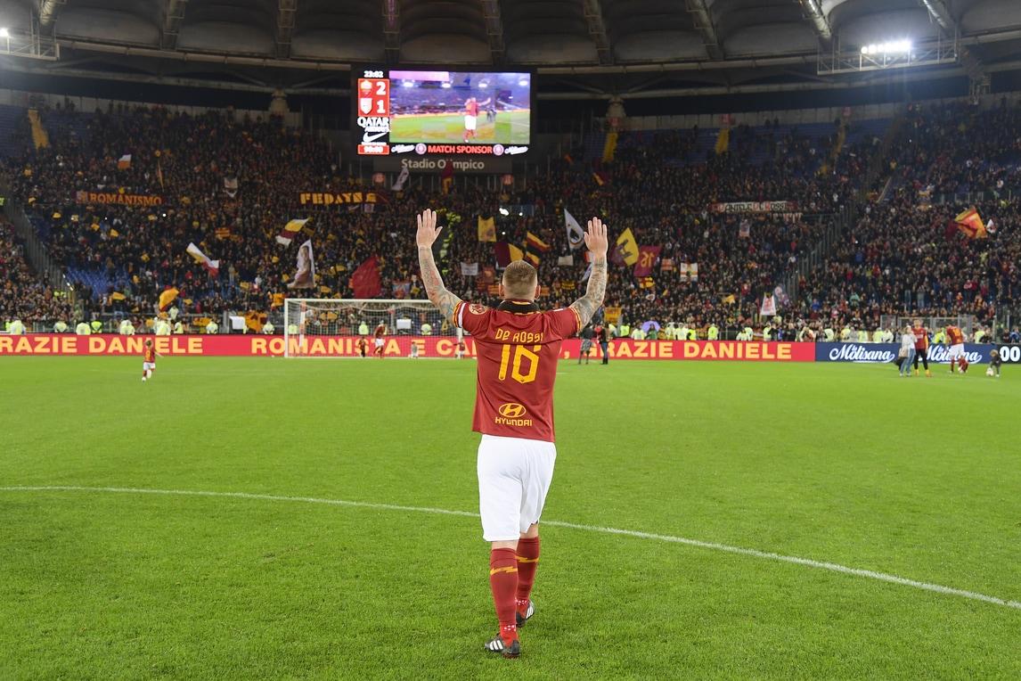 Roma-Parma, le pagelle: per De Rossi un addio indimenticabile