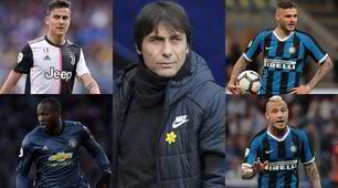 La rivoluzione di Conte per l'Inter che rinasce: ecco chi arriva e chi parte