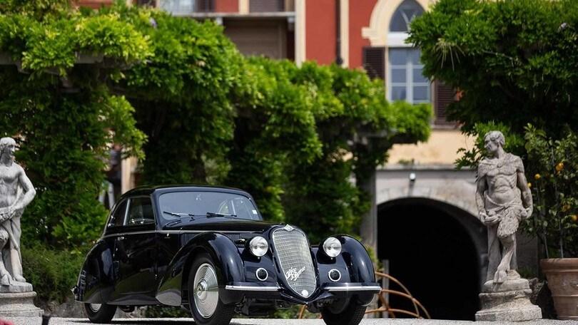 Concorso d'Eleganza Villa d'Este, l'Alfa Romeo 8C 2900 B vince la Coppa d'Oro
