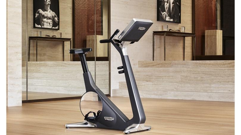 La bike Technogym per allenarsi come in palestra