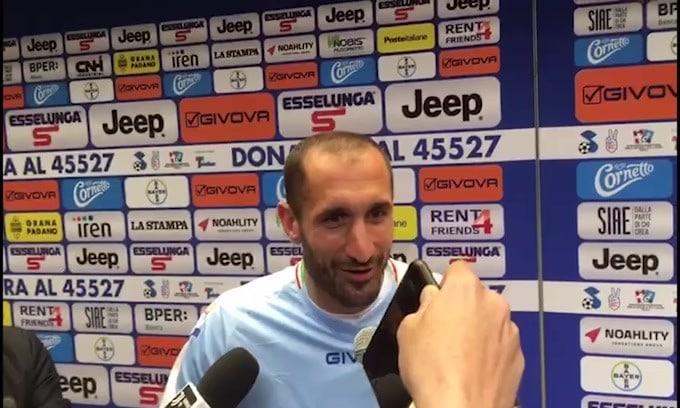 """Chiellini: """"Chi allena la Juve? Non lo so"""""""