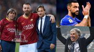 Ecco i promossi della stagione: da De Rossi e Quagliarella fino a Gasperini