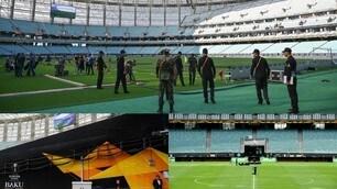 Finale Europa League, tutto pronto allo stadio Olimpico di Baku