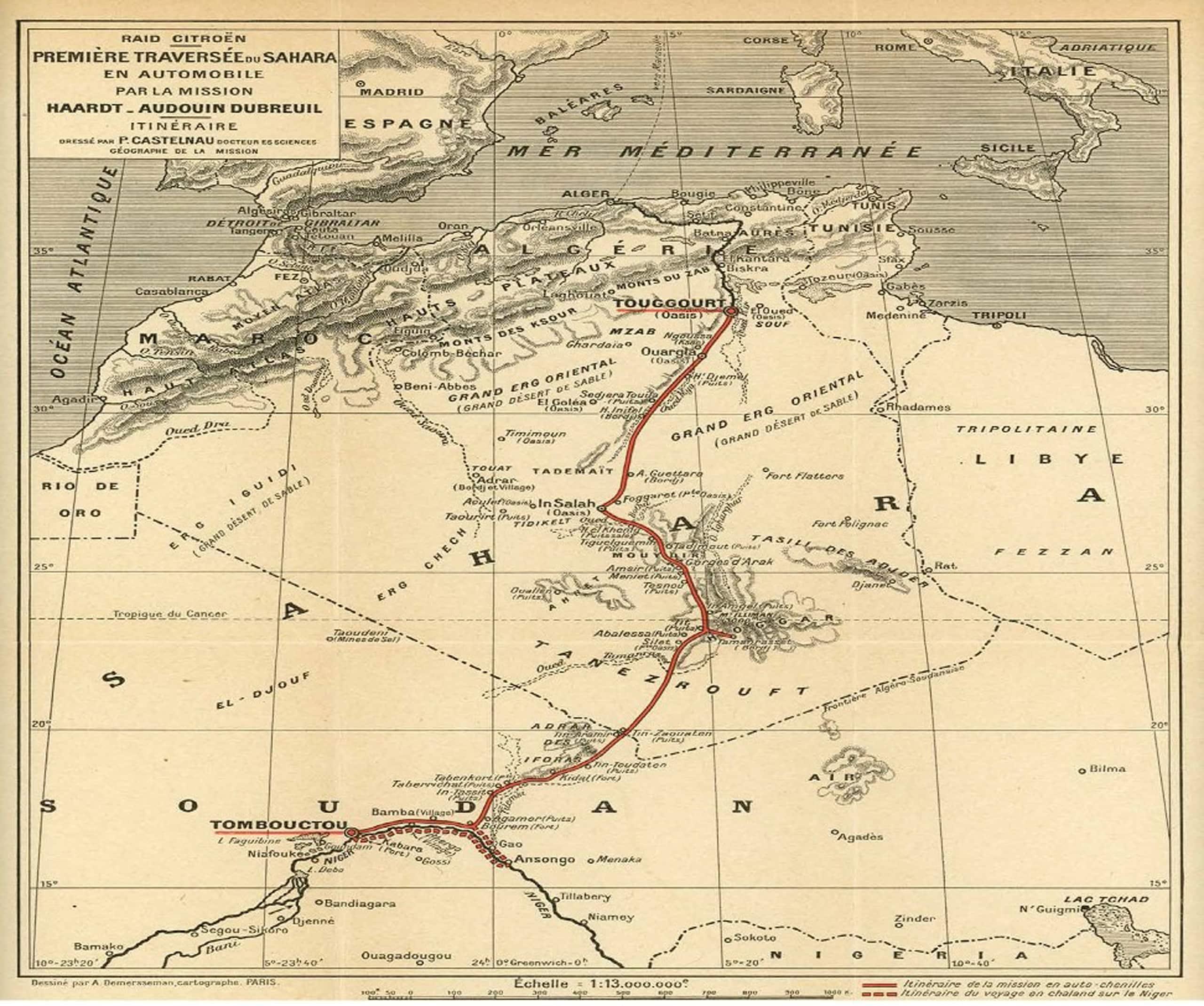 Citroen B2 Type: nel 1922 la traversata del Sahara FOTO