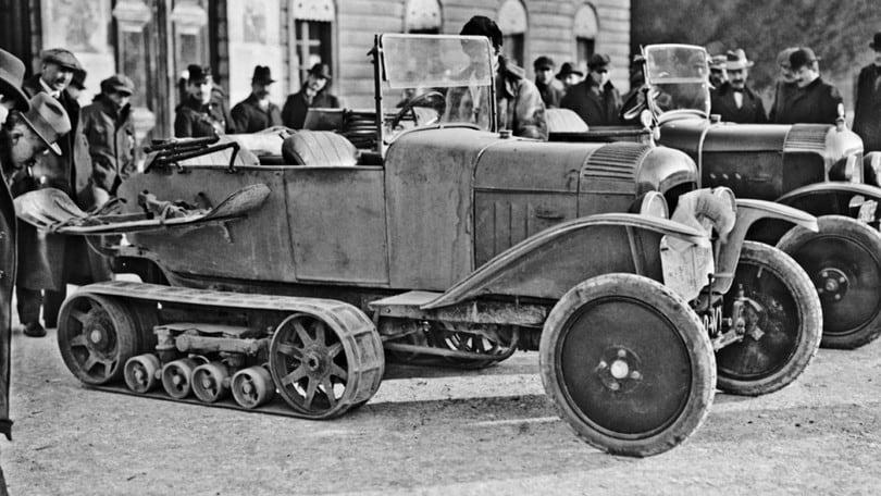 Citroen B2 Type: l'auto che attraversò il deserto