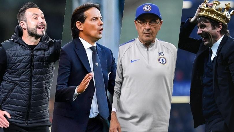 Allenatori Serie A, panchine girevoli: la situazione aggiornata delle 19 squadre
