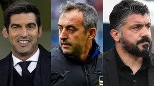 Roma, casting allenatore: ecco tutti i nomi