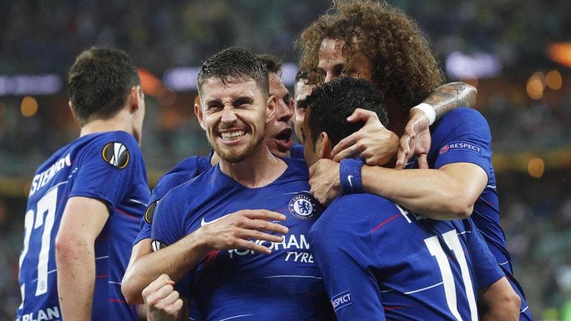 Sarri si prende l'Europa League: il Chelsea batte l'Arsenal 4-1