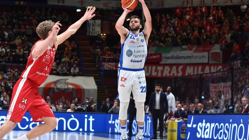 Sassari conquista Gara 1 contro Milano al Forum