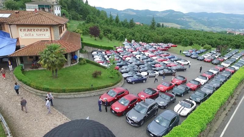 Mazda MX5 al 17° Andar per Langhe: le immagini