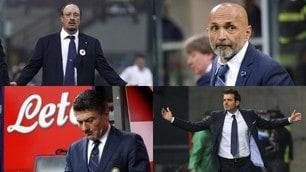 Inter, da Benitez a Conte: quanti cambi in panchina dopo il Triplete