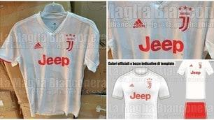 Ecco la seconda maglia della Juventus 2019-2020