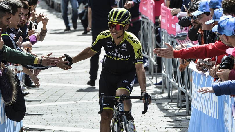 A Chaves la 19ª tappa del Giro d'Italia. Carapaz resta in rosa