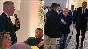 Ancelotti, super festa a Capri per i suoi 60 anni