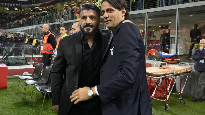 Lazio, c'è Gattuso se va via Inzaghi